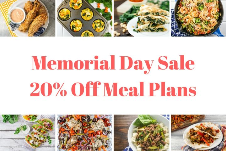 Memorial Day Weekend Sale! 20% Off Meal Plans