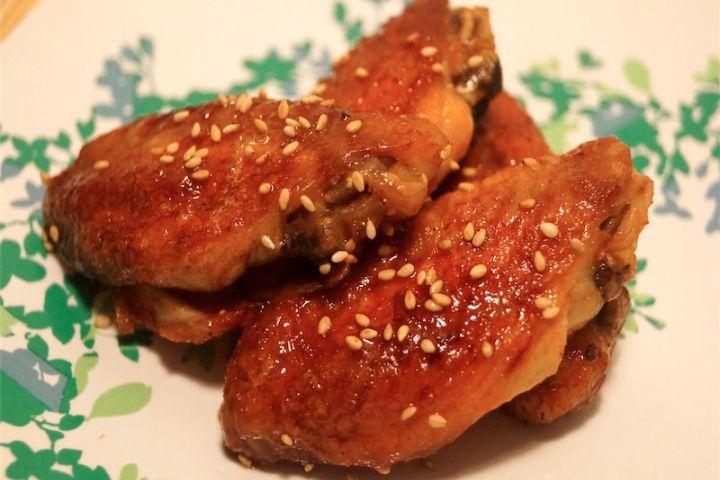 Baked Honey Sriracha Wings
