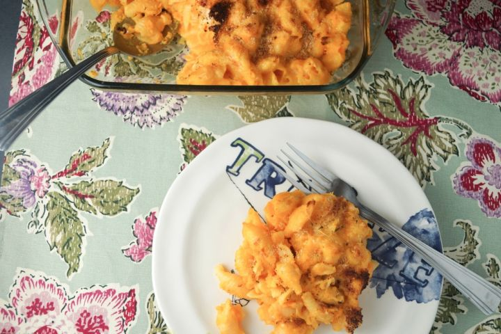 Cheddar and Carrot Mac and Cheese