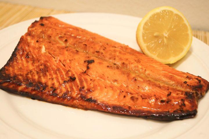 Soy Honey Salmon