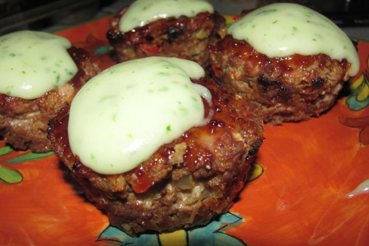 Barbecue Meatloaf Muffins