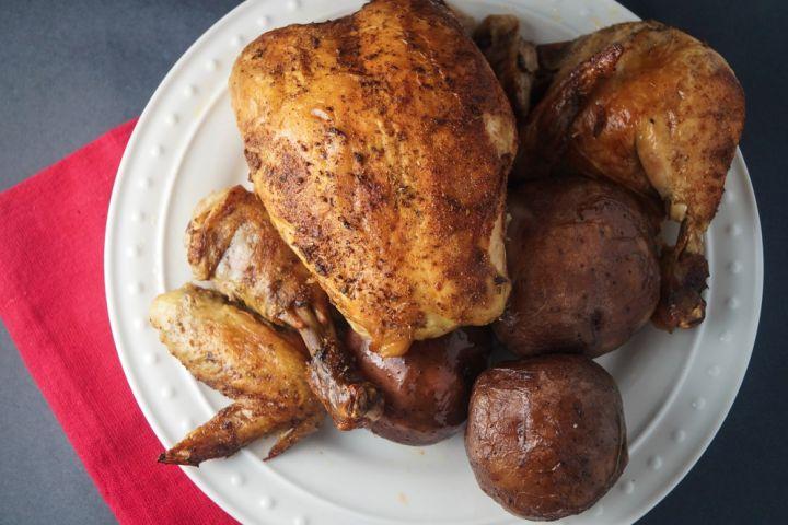 Sunday Slow Cooker: Rotisserie Chicken