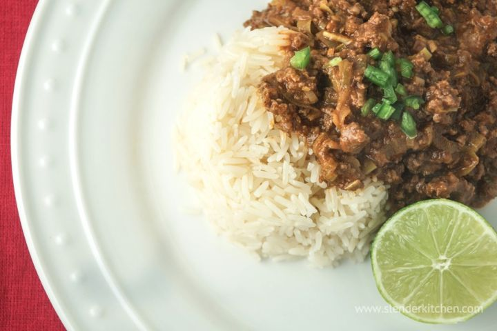 Sunday Slow Cooker: Thai Curry Ground Beef
