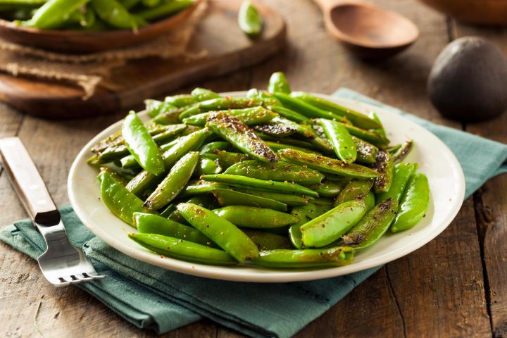 Garlic Sugar Snap Peas make a tasty and healthy side dish that's ready in minutes and made with just 5 ingredients you probably already have on hand.