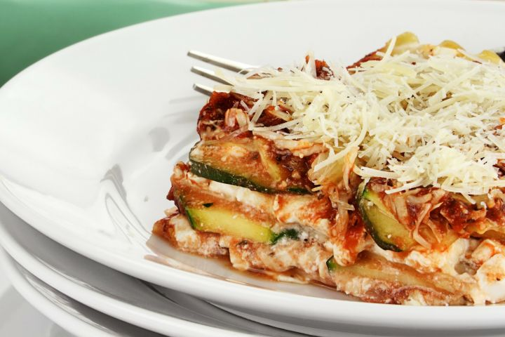 how to make vegetable lasagna without cheese