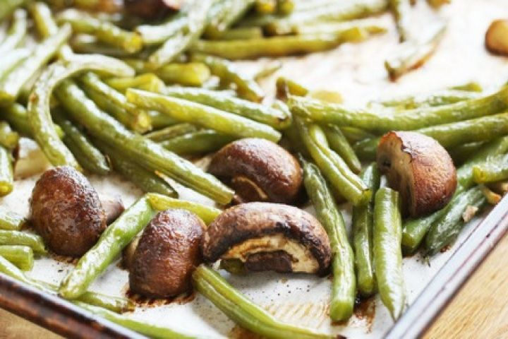 Magnificent Roasted Balsamic Green Beans And Mushrooms Caraccident5 Cool Chair Designs And Ideas Caraccident5Info