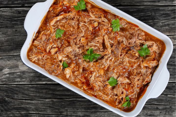 Low Carb Slow Cooker Barbecue Turkey