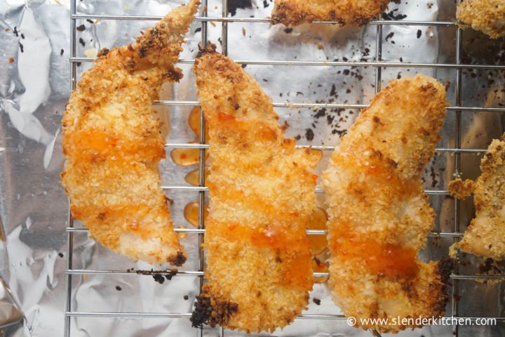 Sweet Chili Coconut Chicken Fingers