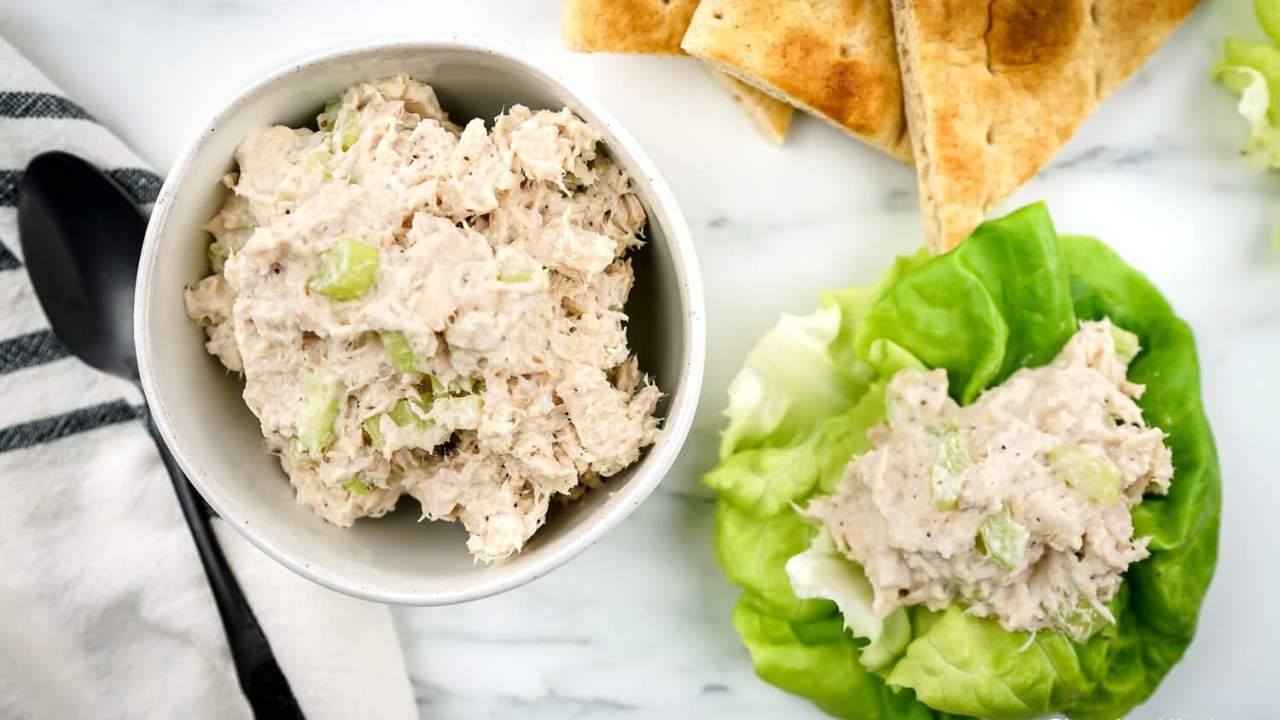 Healthy Tuna Salad Slender Kitchen