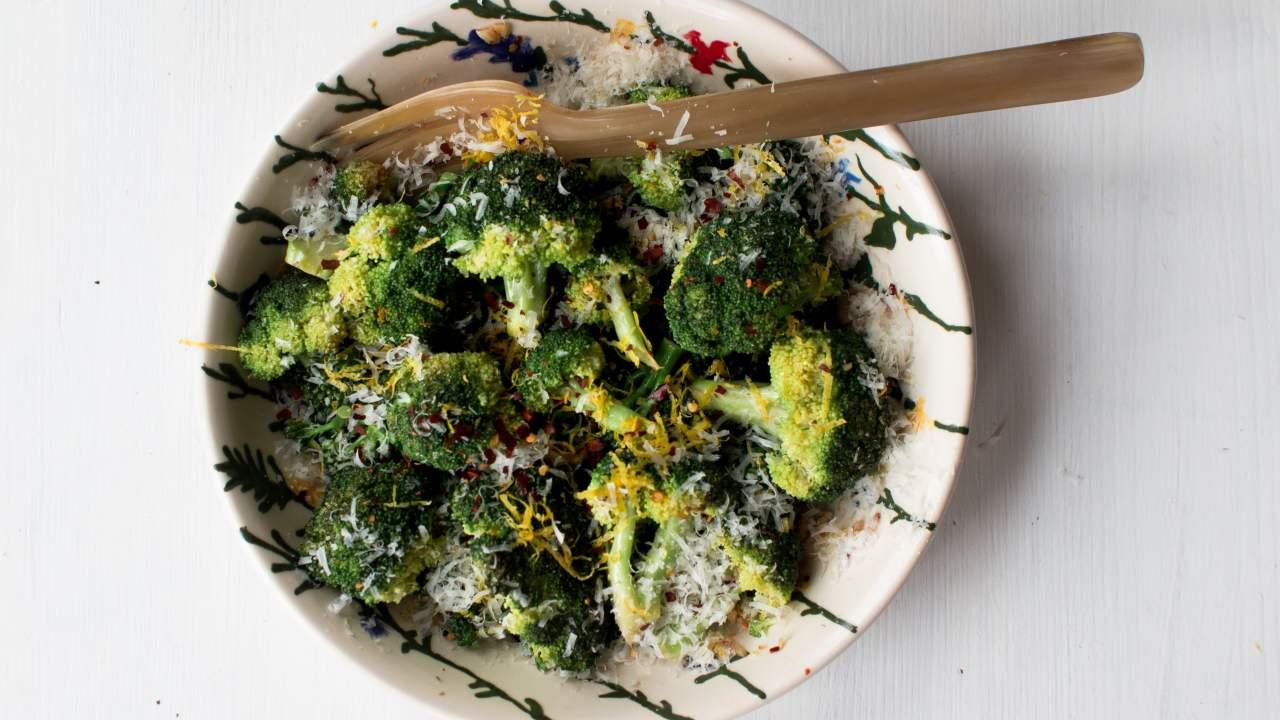 Sauteed Broccoli Slender Kitchen