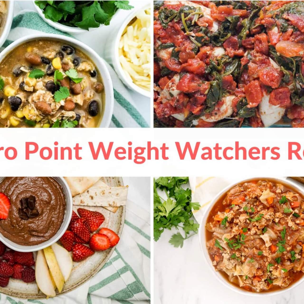 Thirty Zero Point Weight Watchers Recipes Slender Kitchen