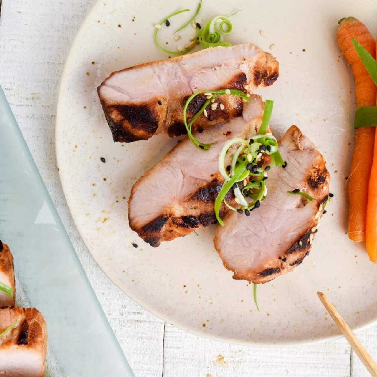 Grilled Asian Pork Tenderloin - Slender