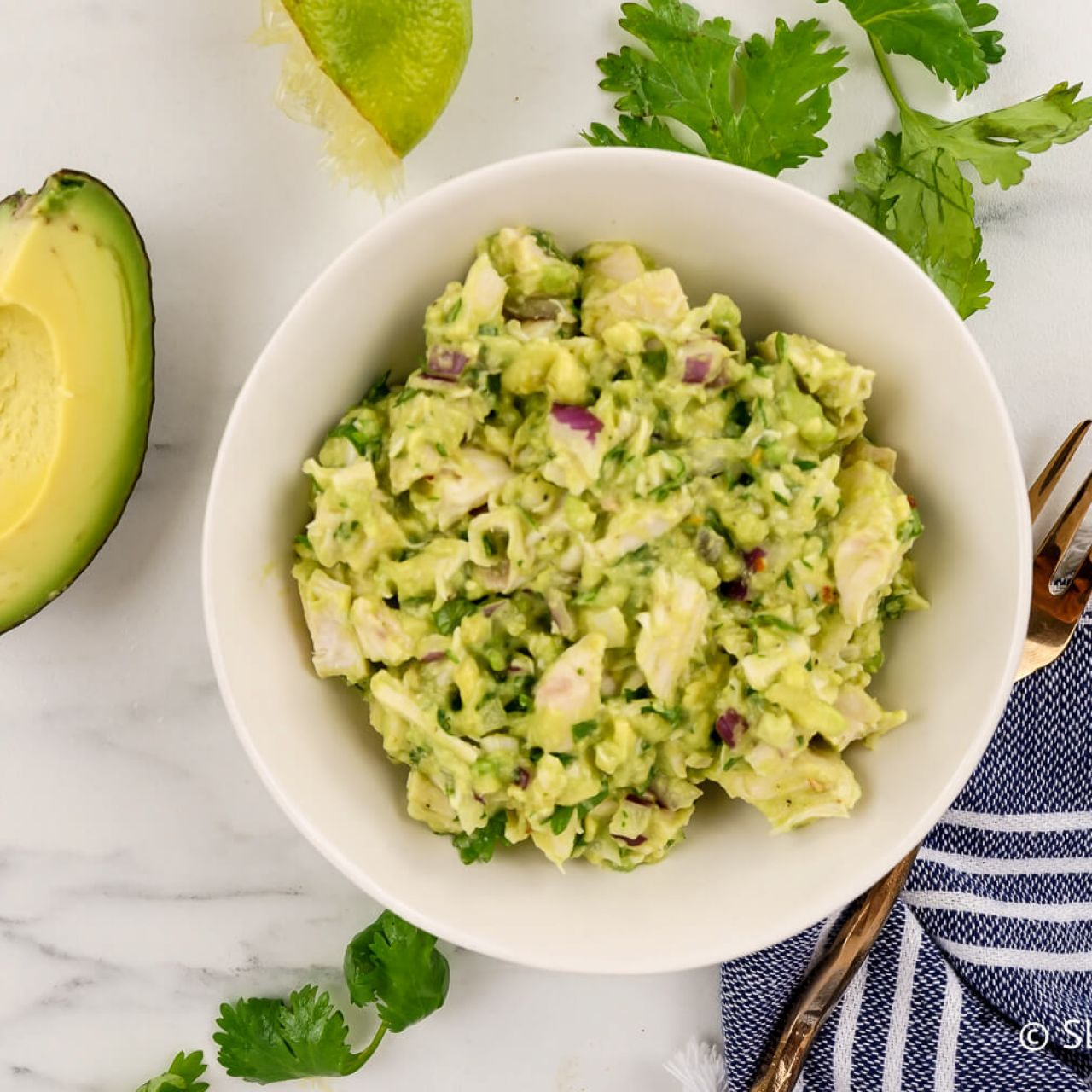 Avocado Chicken Salad Homestead Recipes