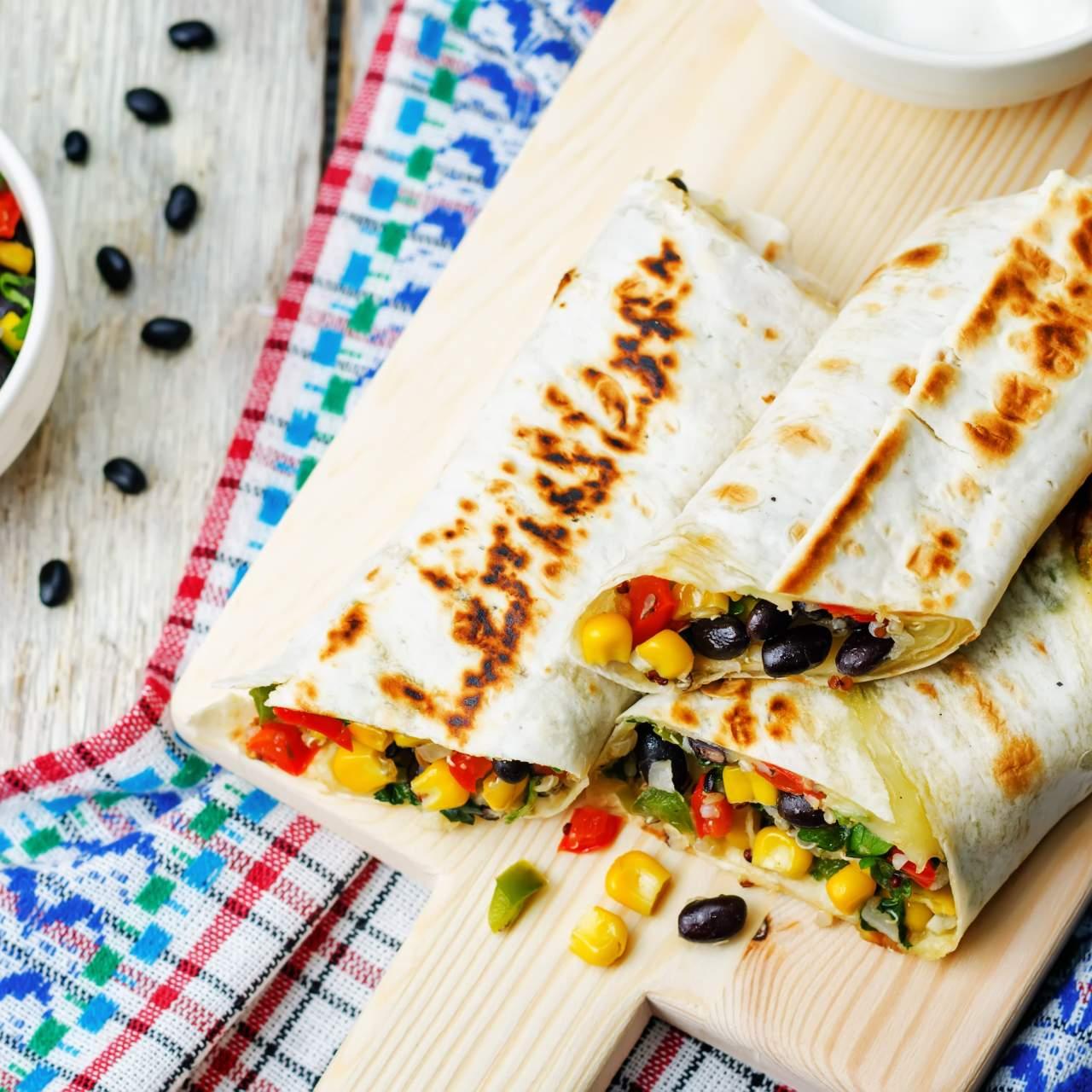 Healthy Homemade Frozen Burritos Slender Kitchen