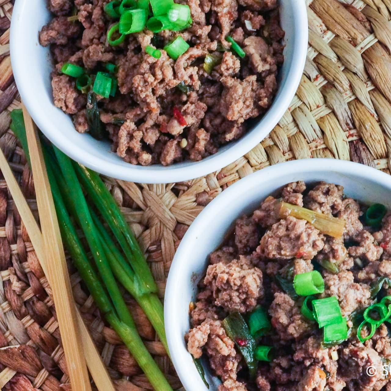 Healthy Mongolian Ground Beef Slender Kitchen