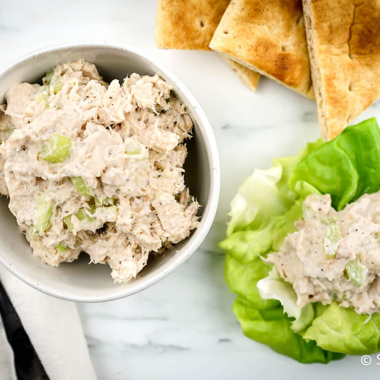 Healthy Tuna Salad Slender Kitchen