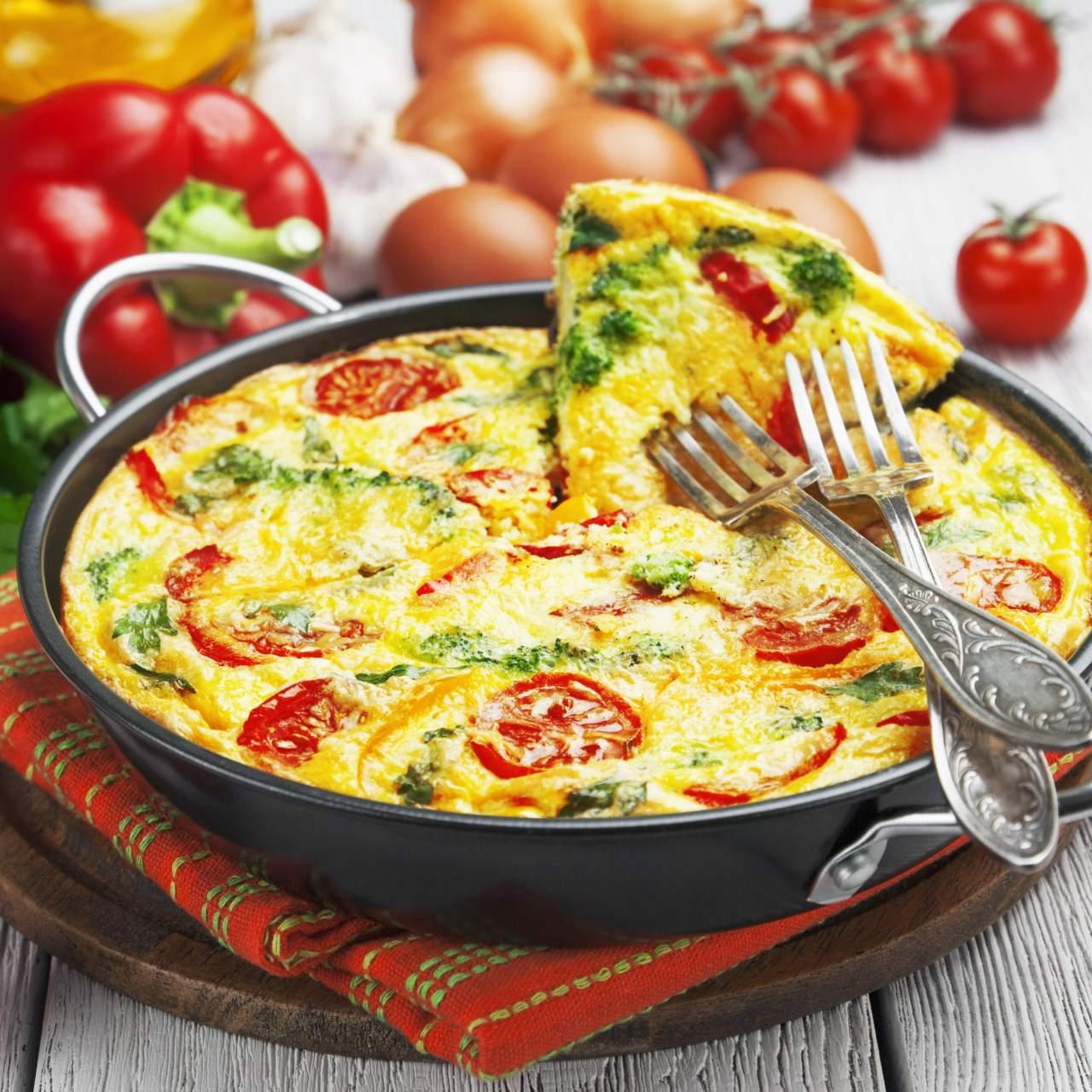 Italian Breakfast Frittata Slender Kitchen