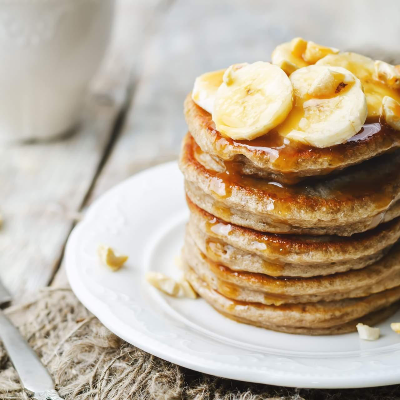 Protein Packed Oatmeal Banana Pancakes Slender Kitchen