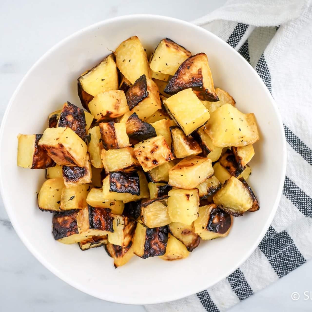 Roasted Turnips Slender Kitchen