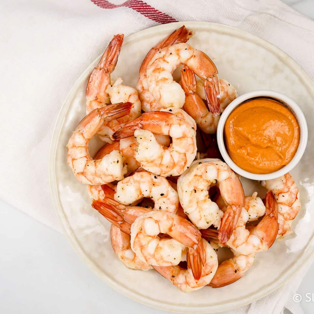 Easy Shrimp Cocktail Roasted Or Poached Slender Kitchen