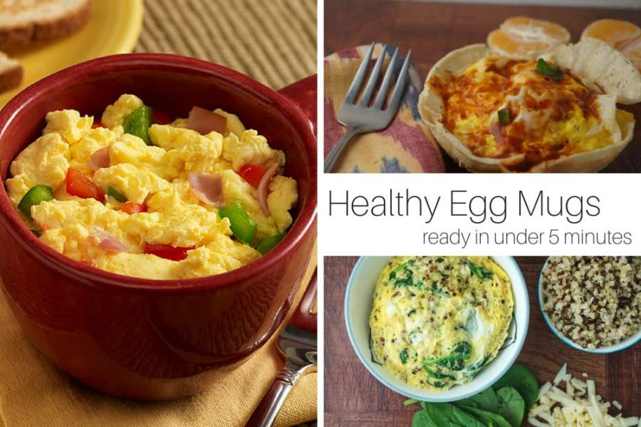 Friday Five: Healthy Breakfast Egg Mugs