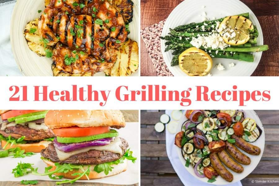 Twenty One Healthy Grilling Recipes