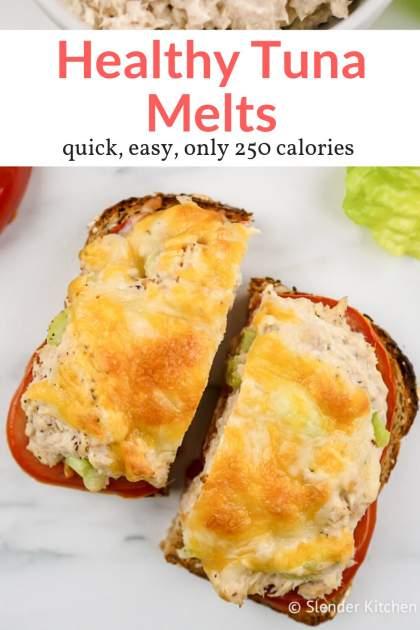 Healthy Tuna Melt