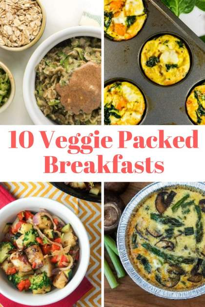 Ten Veggie Packed Breakfast Recipes To Kick Start Your Day
