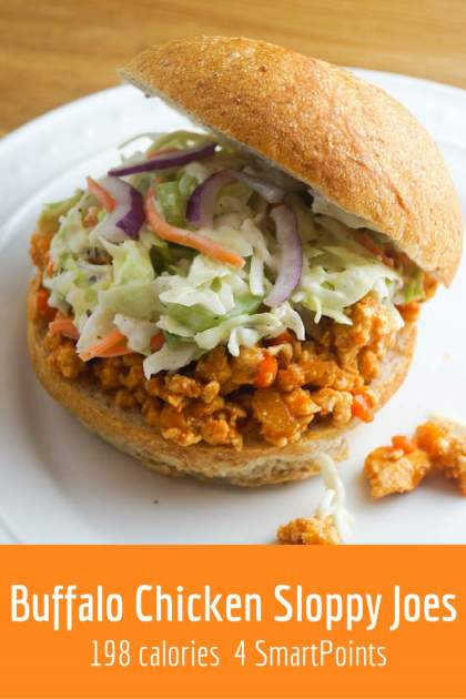 Buffalo Chicken Sloppy Joes