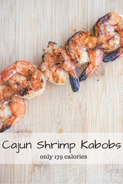 Cajun Shrimp Kabobs