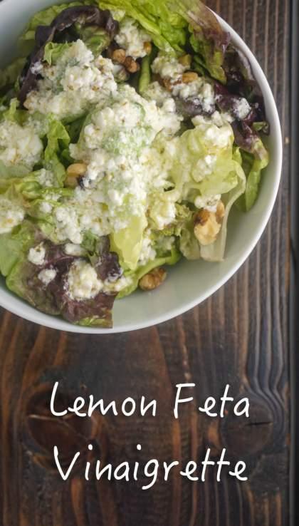 Lemon Feta Vinaigrette