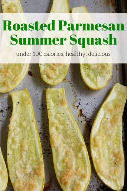 Roasted Parmesan Summer Squash makes a tasty side dish and couldn't be easier to make. With a little Parmesan and EVOO, it tastes incredible.