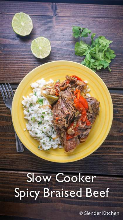 Sunday Slow Cooker: Spicy Braised Beef