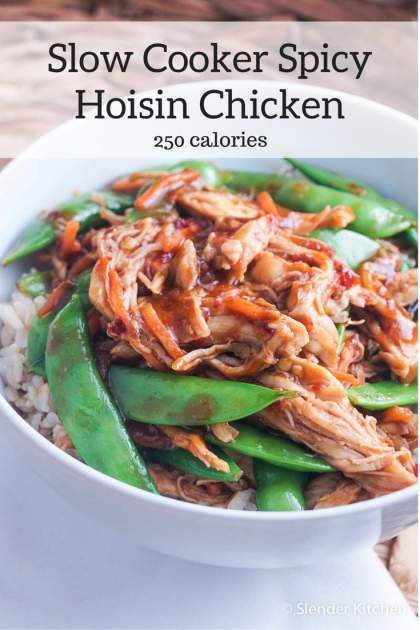 Slow Cooker Spicy Hoisin Chicken Thighs