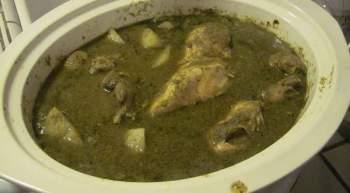 Slow Cooker Puerto Rican Chicken Stew