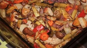 Oven Roasted Veggies