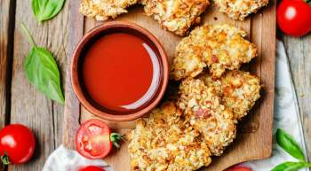 Almond Crusted Pork Tenders are crispy, packed with flavor, and the perfect Paleo, Whole30, low carb, and healthy meal.