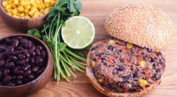 Black Bean Lime Burgers