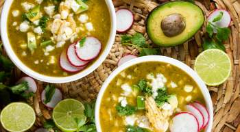Chicken Tortilla Soup with Fresh Corn