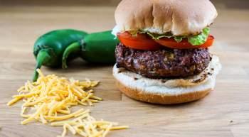 Jalapeno Cheddar Burger