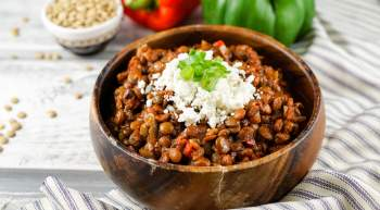 Slow Cooker Tuscan Lentil Sloppy Joes