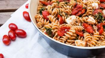 Whole Wheat Caprese Pasta