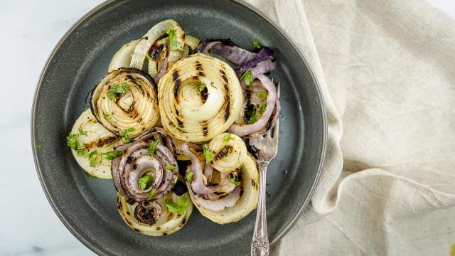 Easy Grilled Onions