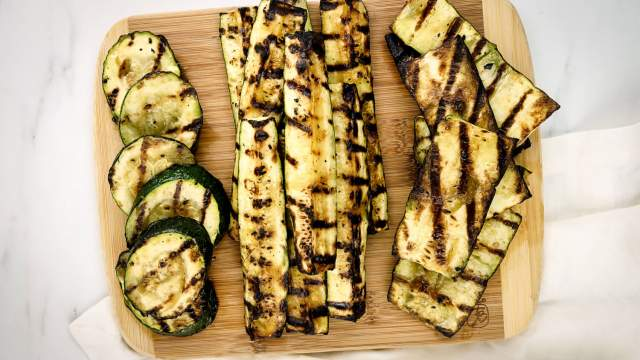 Garlic Grilled Zucchini (How to Grill Zucchini)