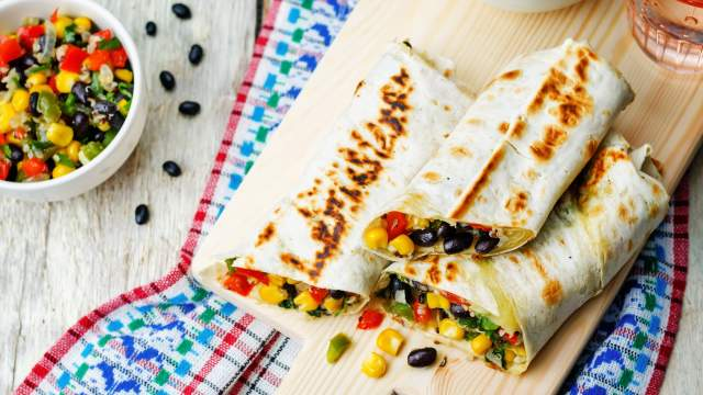 Healthy Homemade Frozen Burritos