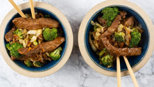 Hoisin Pork and Vegetable Stir Fry