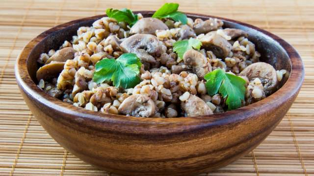 Mushroom Barley Bowls