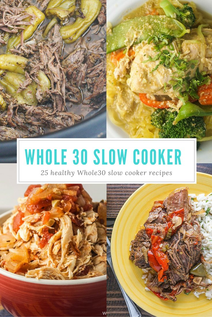If you are considering doing a whole30 the slow cooker can be your